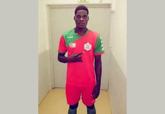 Le jeune footballeur Mondy Prunier brille en 2ème division Guadeloupéenne