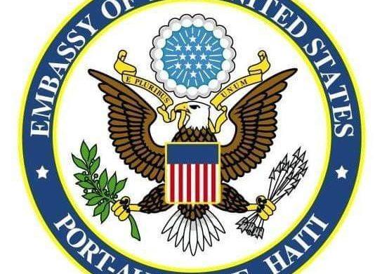 Déclaration de l'ambassade des États-Unis  à l'occasion de la commemoration des 10 ans tremblement de terre