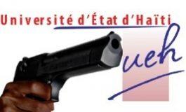 Des professeurs et des cadres de l'UEH sous la cible des étudiants