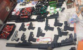 Des armes et des munitions saisies au Cap-Haitien