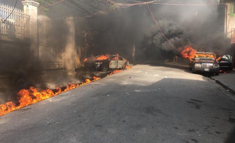 Haïti-protestation : attaque contre «radio Caraibes»