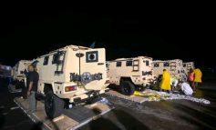 Les véhicules blindés sont arrivés en Haïti