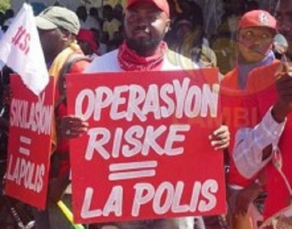 Création d'un syndicat, des policiers ont gagné les rues
