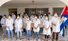 Coronavirus : des médecins et infirmières cubains volent au secours des haïtiens