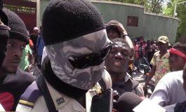 """Haïti-protestation : des policiers du """"Fantôme 509"""" ne veulent pas lâcher prise"""
