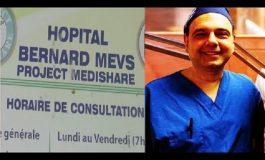 Dr Jerry Bitar de l'hopital Bernard Mevs, libéré