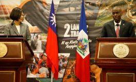 Taïwan vole au secours du gouvernement haïtien dans la gestion du nouveau coronavirus