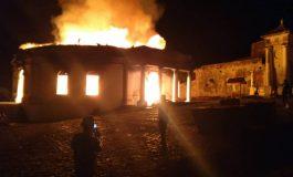 La chapelle royale de Milot ravagée par un incendie