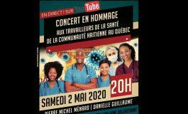 Un concert en hommage aux travailleurs haïtiens de la santé au Québec