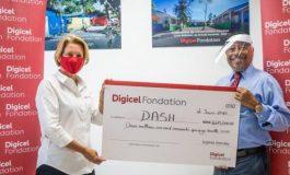 Digicel fait un don de 2,675,000 gourdes à l'hôpital DASH pour faire face à la crise sanitaire