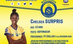 L'internationale haïtienne, Chelsea Arianne Surpris signe au Montauban FCTG, en Bretagne