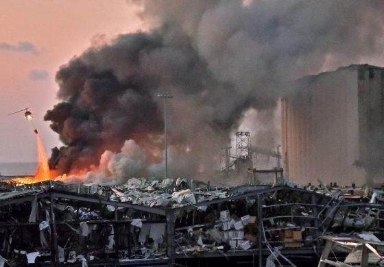 Près de 100 morts et plus de 4000 blessés dans une explosion à Beyrouth
