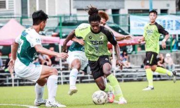 Championnat Taiwanais: But victorieux de l'international haïtien Benchy Estama pour son équipe TSG FC.