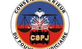 Levée de siège du CSPJ en mémoire du Bâtonnier Monferrier Dorval