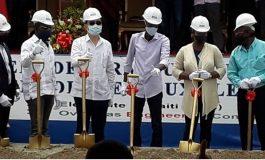 Le président Jovenel Moïse lance les travaux de renforcement des réseaux électriques de la zone métropolitaine