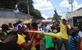 Des protestataires réclament la libération de l'ancien député Arnel Bélizaire