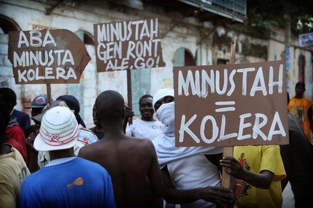 Choléra : Marquer les 10 ans de l'introduction de la maladie en Haïti par les casques bleus des Nations-Unis