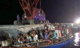 Un groupe de migrants haïtiens interceptés au large de Providenciales