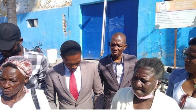 Considérés comme des prisonniers politiques, des detenus ont reçu une visite surprise
