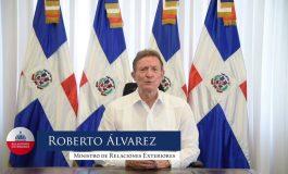 Visite du chancelier dominicain en Haïti
