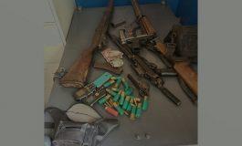 Opération policière aux Gonaïves, des armes et munitions saisies