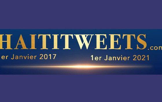 Message du média en ligne haititweets.com pour le nouvel an