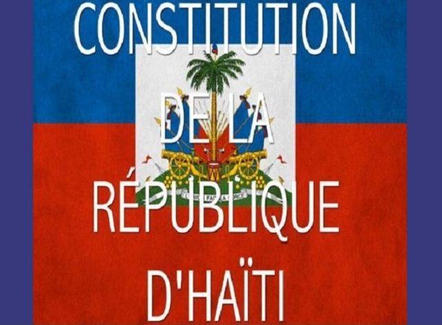 87.4% de la population haïtienne est favorable à une nouvelle constitution, selon un sondage
