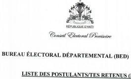 Elections: les membres des BED et des BEC sont désormais connus