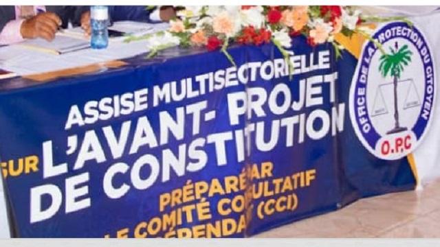 L'OPC clôture ses deux journées de travail sur l'avant-projet de la nouvelle constitution