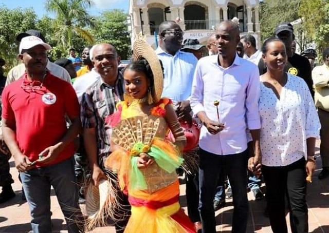 Jacmel: Jovenel Moise lance la 29e édition du carnaval
