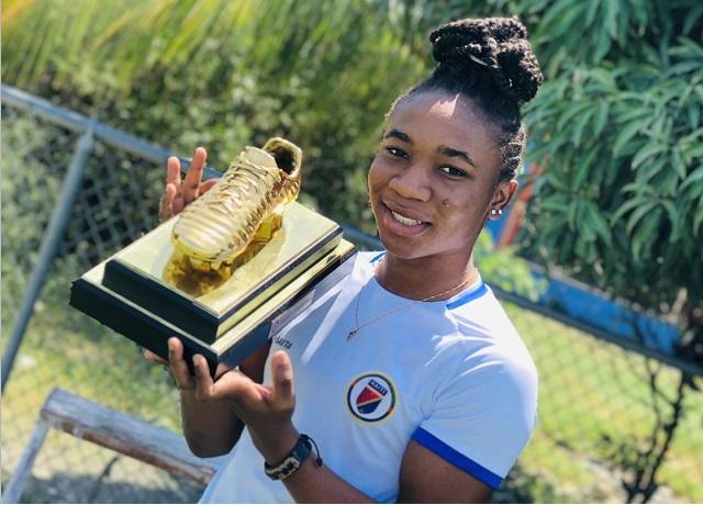 Enfin, Melchie Dumornay a récupéré son soulier d'or