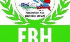 La Fédération des Barreaux d'Haïti n'entend pas désigner des Avocats pour la formation des tribunaux électoraux