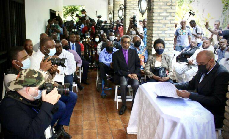 Des acteurs politiques se positionnent officiellement aux côtés du PM Ariel Henry