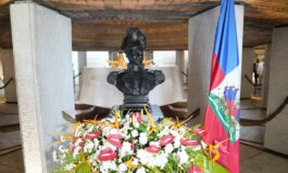 """Ariel Henry commémore """"le jour de Dessalines"""", décrété par Jovenel Moïse"""