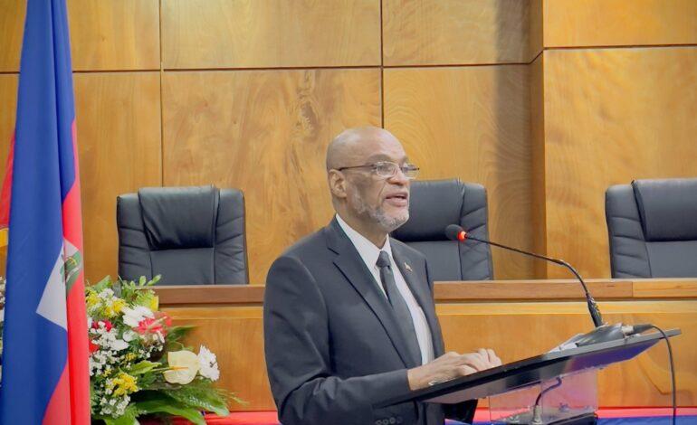 Le PM Ariel Henry s'engage à travailler pour la relance de toutes les institutions étatiques