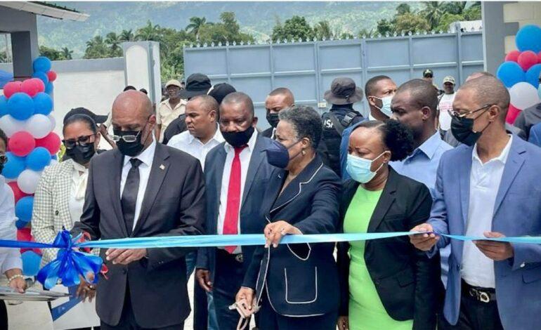 L'école nationale Jovenel Moïse inaugurée à Fonds-des-Nègres