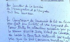 Le Montréalais et fondateur de la Fondation John Busta recherché par la PNH pour financement d'actes de terrorisme