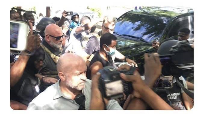 Martine Moïse auditionnée sur le dossier de l'assassinat du Président Jovenel Moïse